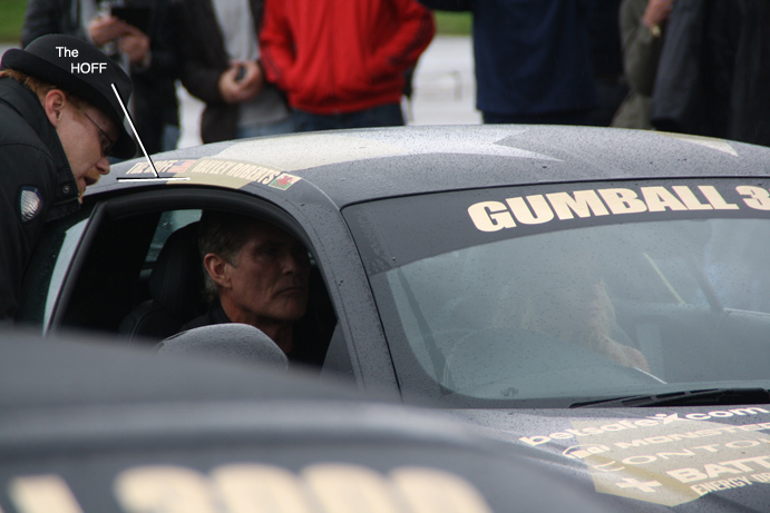 David Hasselhoff, The Hoff, Audi r8, Gumball, 3000, 2013, Day 1
