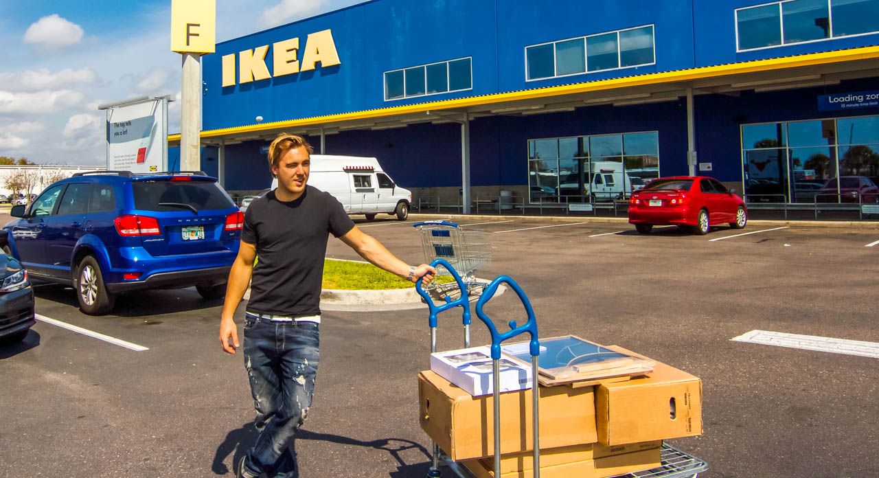 real estate investor on IKEA