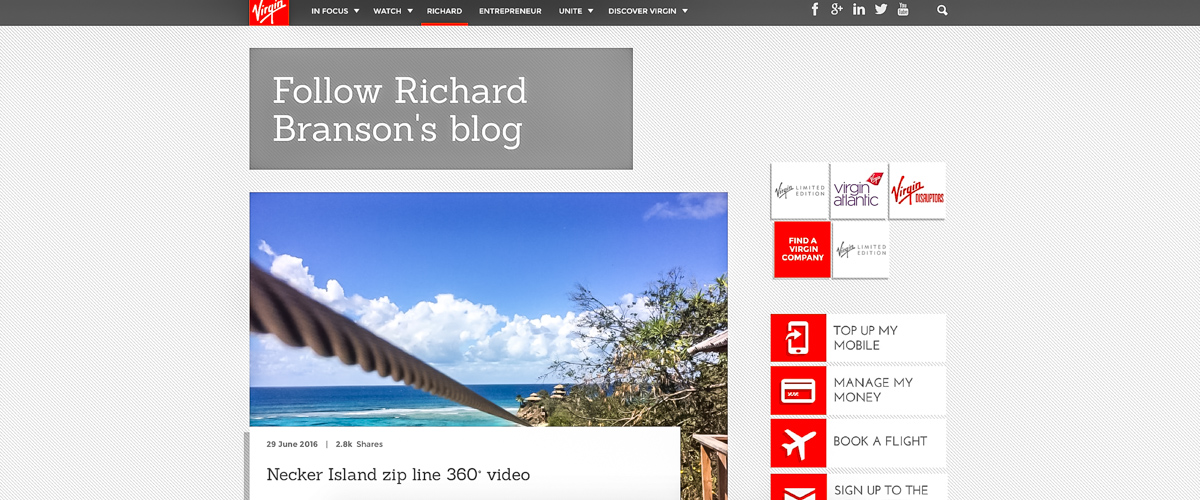 richard bransons blog