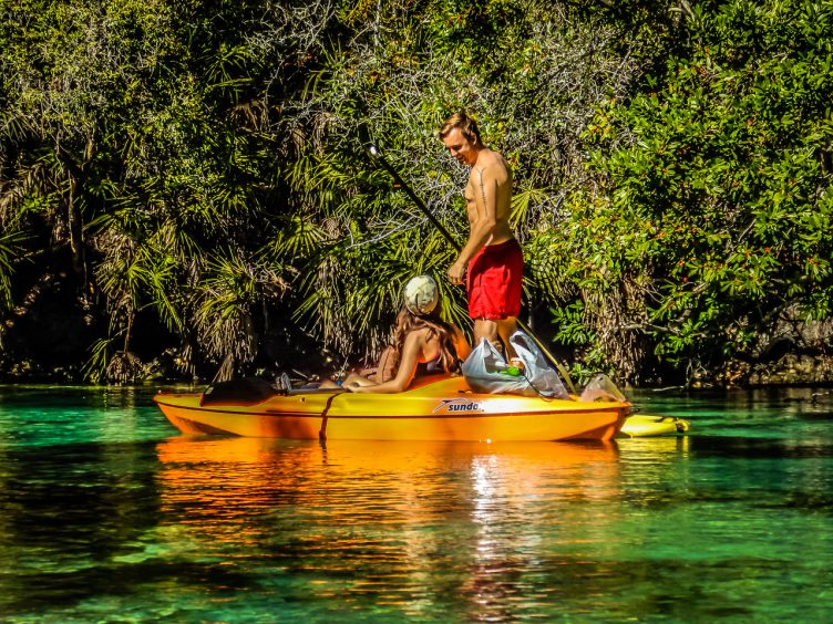 The Weeki Wachee River