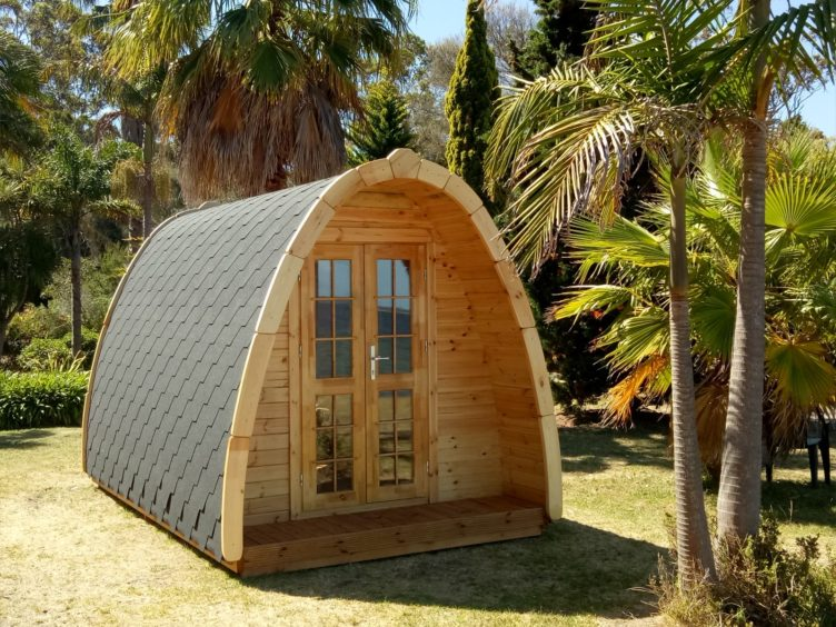 Our latest venture – Importing Glamping Pods to USA