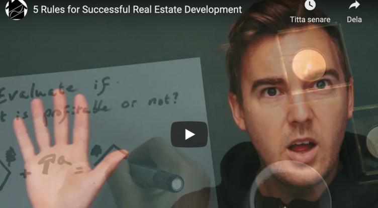 5 Tips for better real estate developments